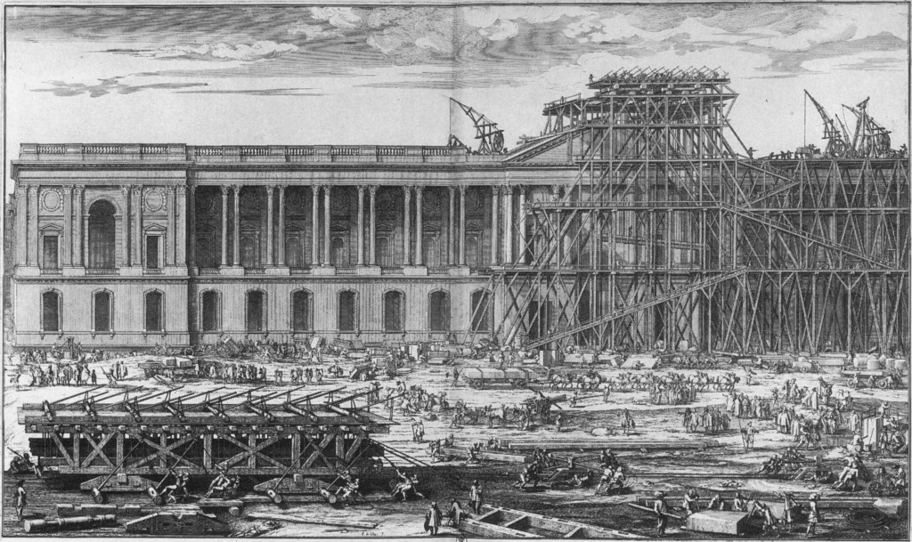 About the construction history society - Date construction du louvre ...