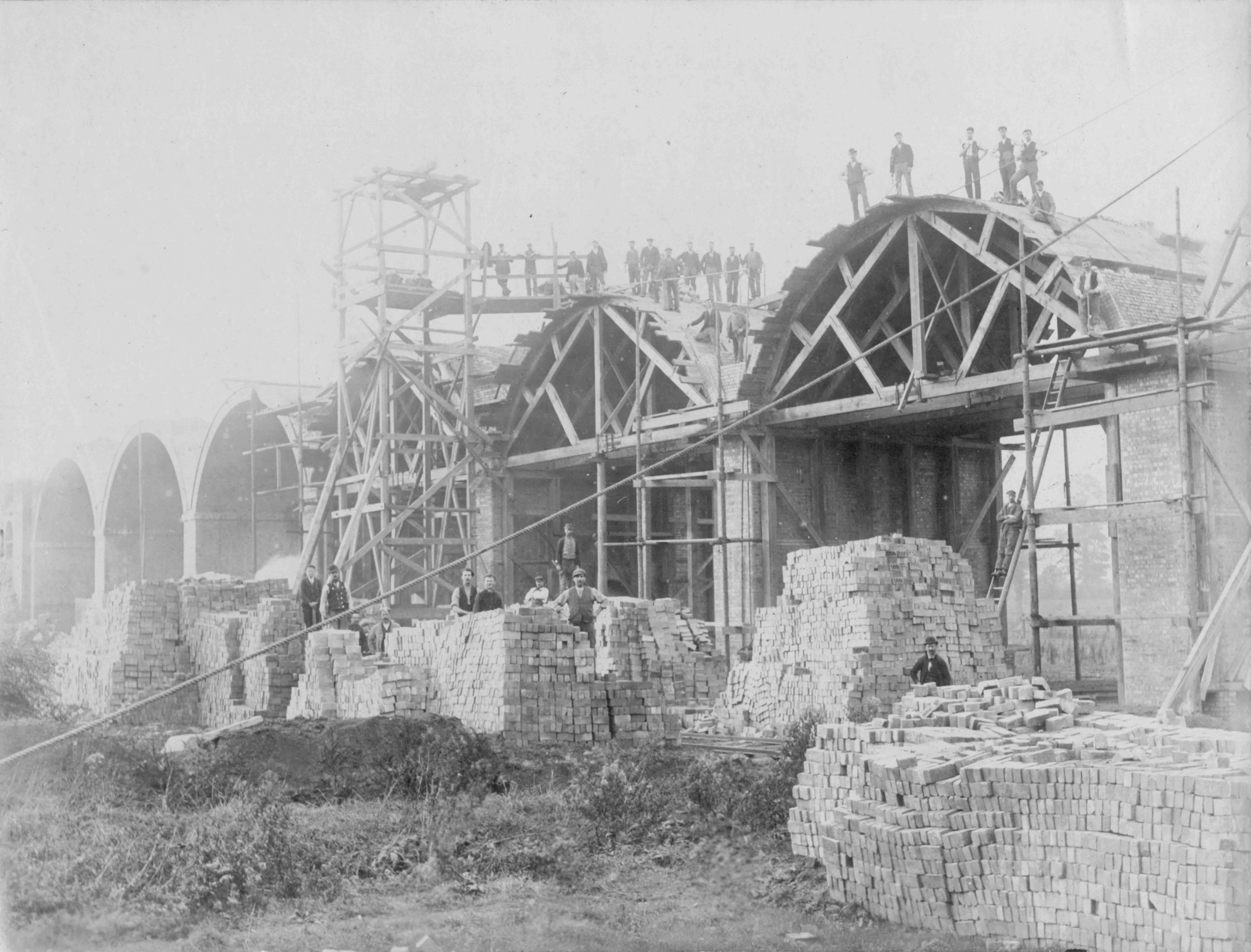 The history of the construction of the Bugrinsky bridge 75